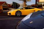 Porsche   Anti Sedan: Porsche GT3 and Lamborghini Gallardo