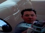 Ferrari   Gunmetal Modena: Ash Simmonds self-portrait