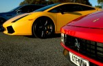 Ferrari testarossa Australia Beamas Holiday: Ferrari Testarossa Lamborghini Gallardo SE