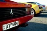 Ferrari testarossa Australia Beamas Holiday: Ferrari Testarossa exhaust