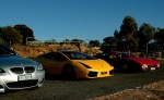 Photos bmw Australia Beamas Holiday: Ferrari Testarossa Lamborghini Gallardo SE BMW M5 E60