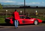 Ferrari testarossa Australia Salopian Express: 100 4853