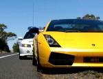 Police   Melbourne Economy Adventure: Lamborghini Gallardo vs Police