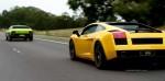 Lamborghini urraco Australia Urraco Shakedown: Gallardo chasing Urraco