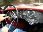 CAB   Urraco Shakedown: Porsche 356 cabriolet interior
