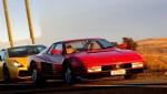 Adel   Half way to Melbourne: Ferrari Testarossa