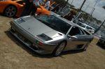 Silver   Ferrari - Mazza - Lambo Car Concourse: DSC 7004
