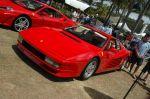 Ferrari testarossa Australia Ferrari - Mazza - Lambo Car Concourse: DSC 7036