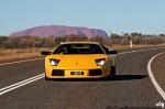 dingo Photos Exotics in the Outback 2007: Lamborghini Murcielago - Ayers Rock