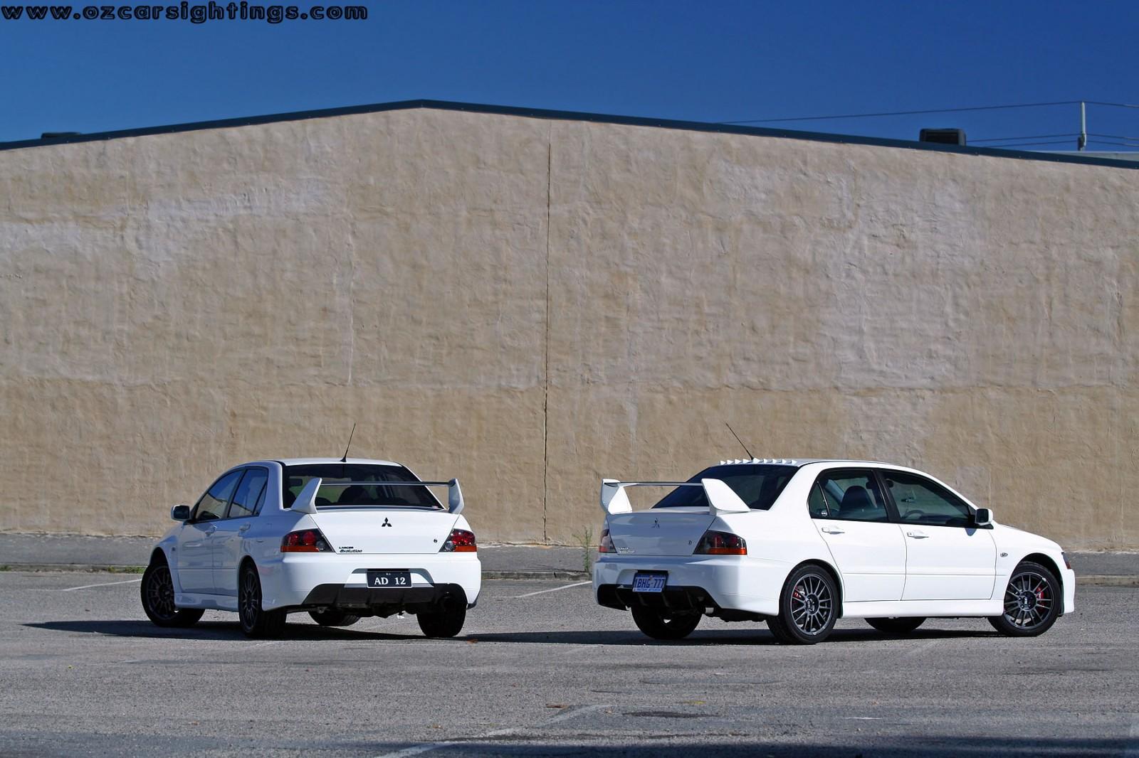 Mitsubishi Evo IX Photoshoot