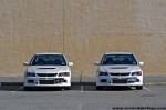 Win   Mitsubishi Evo IX Photoshoot: mitsubishi-evo-ix-twins-(1)