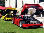 Engine   FCA Concourso: Ferrari F40 and F50 - Engine Lids Open