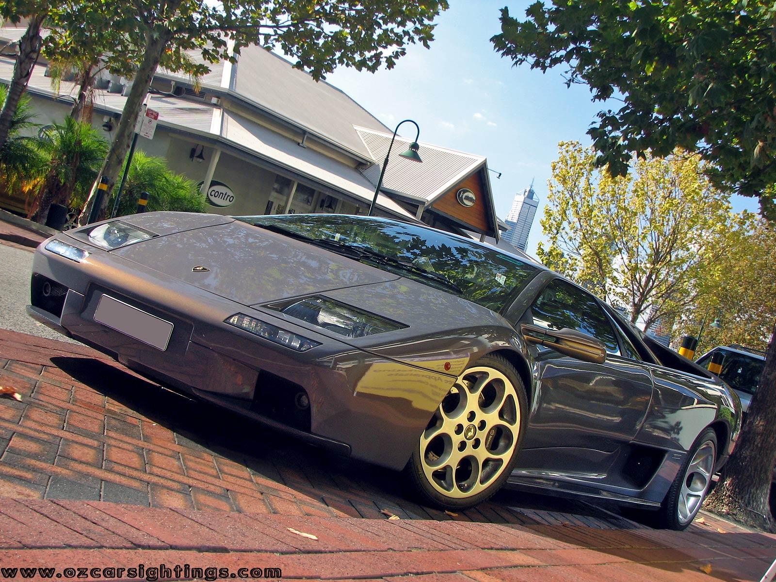 Lamborghini Perth Car Spotting: lamborghini-diablo-6 0-(42)