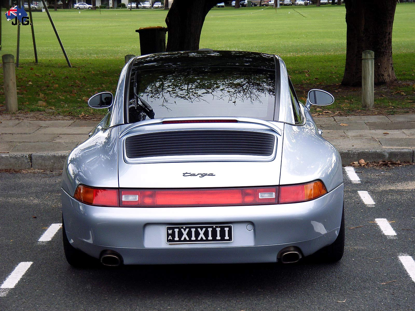 porsche 993 targa (3) dingo Perth Car Spotting