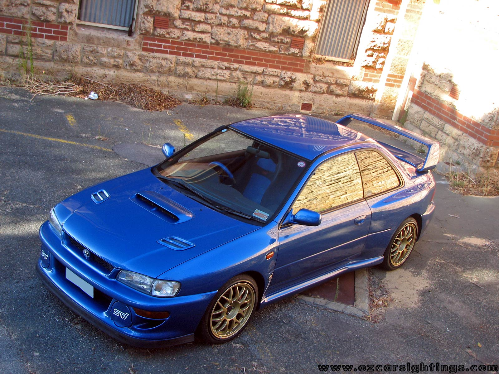 Subaru Impreza STi One Of Maybe 2 Cars From JDM Land That I Really Care For  Anymore :)