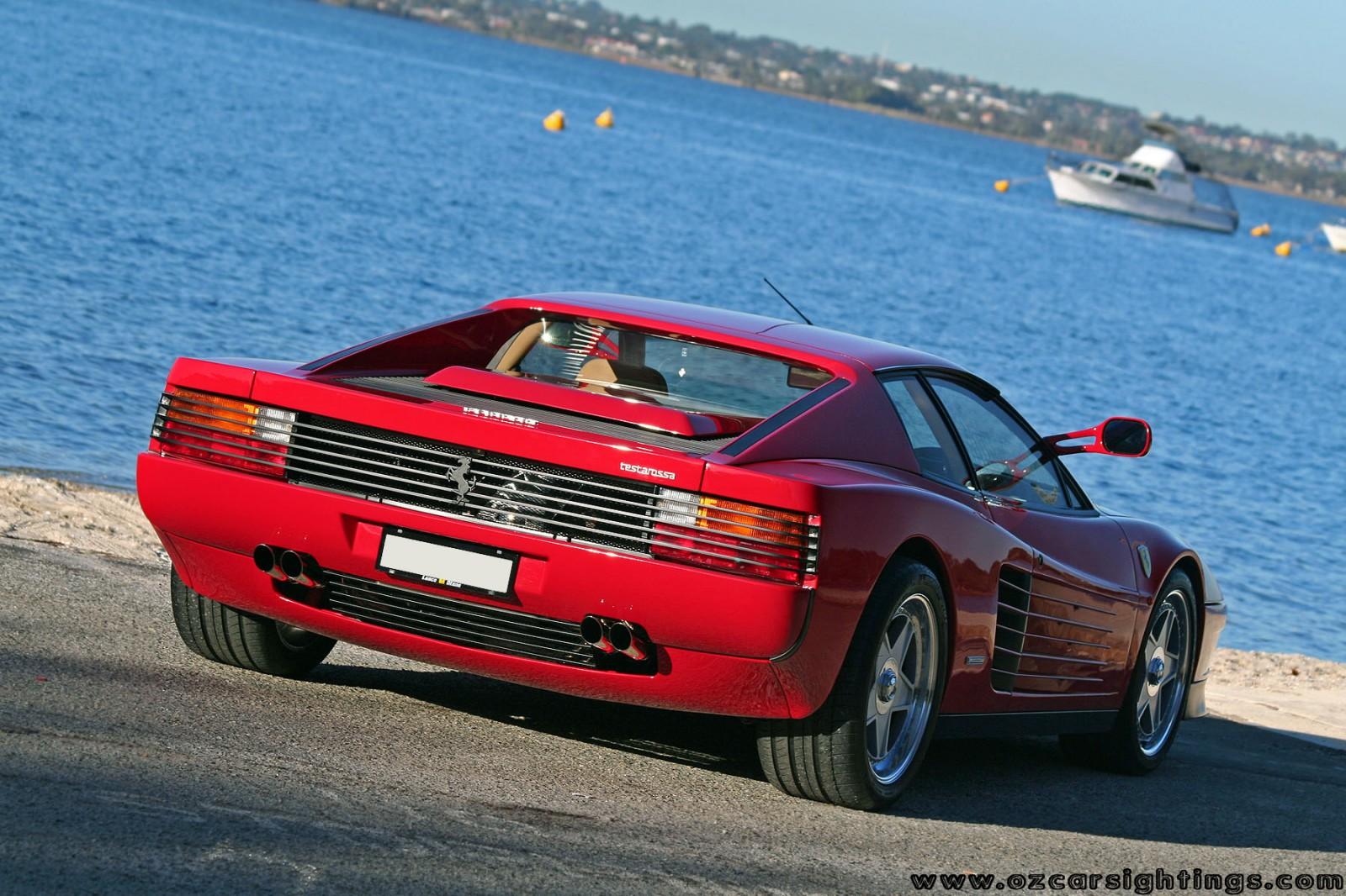 ferrari testarossa (10) dingo Ferrari Testarossa Photoshoot