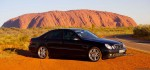 Mercedes   Exotics in the Outback 2006: Mercedes Benz E55 AMG at Ayers Rock
