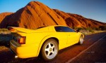Lotus esprit Australia Exotics in the Outback 2006: Lotus Esprit S4s at Ayers Rock