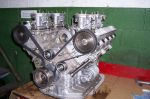 Lamborghini Urraco: engine 20naked 20with 20carbys