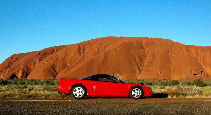nsx wallpaper. Honda Nsx Uluru Wallpaper