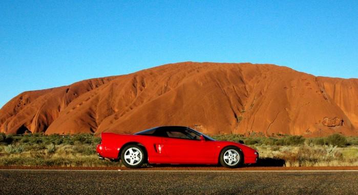 nsx wallpaper. Honda Nsx Uluru Wallpaper