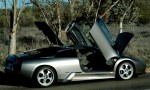 Photos wallpaper Australia Exotics in the Outback 2005: Lamborghini Murcielago - airing out