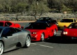 Car   Exotics in the Outback 2005: 242 Cam-Simpsonsgapcarpark9