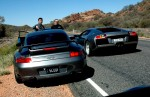 Photos porsche Australia Exotics in the Outback 2005: 358 Cam-GT2andmurcielago