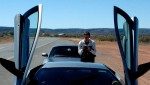 Lamborghini   Exotics in the Outback 2005: 380 Cam-Murcielagodoorsup2