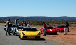 Car   Exotics in the Outback 2005: 387 Cam-Memorialcarpark3
