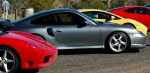 Photos porsche Australia Exotics in the Outback 2005: 430 Cam-Lineupatmtconnor8