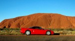 Outback   Exotics in the Outback 2005: Honda NSX at Ayers Rock