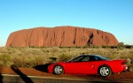 Honda   Exotics in the Outback 2005: Honda NSX at Ayers Rock