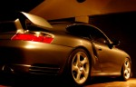 Porsche gt2 Australia Exotics in the Outback 2005: Porsche 996 GT2 - night shot