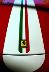Damaged   Exotics in the Outback 2005: Ferrari Challenge Stradale damaged stripe