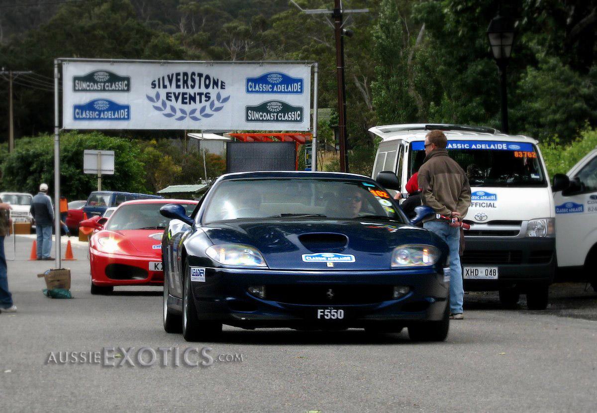Rally Classic Adelaide 2008: Ferrari 550 Maranello
