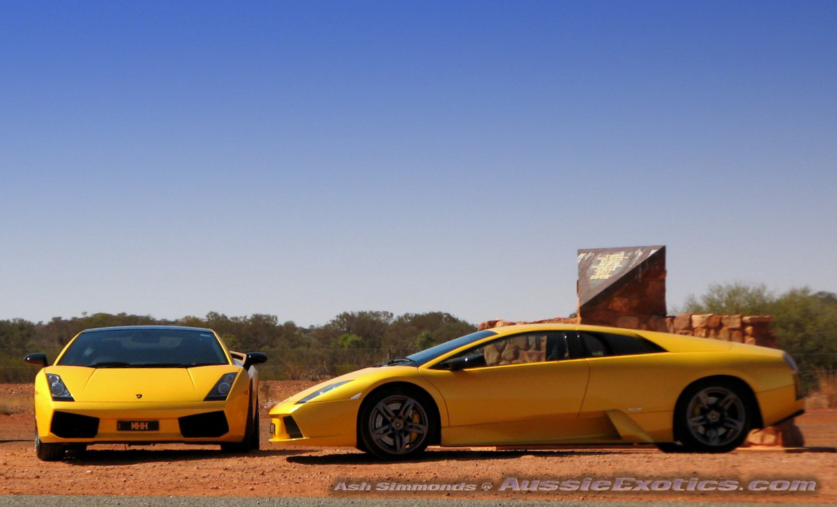 Lamborghini Exotics in the