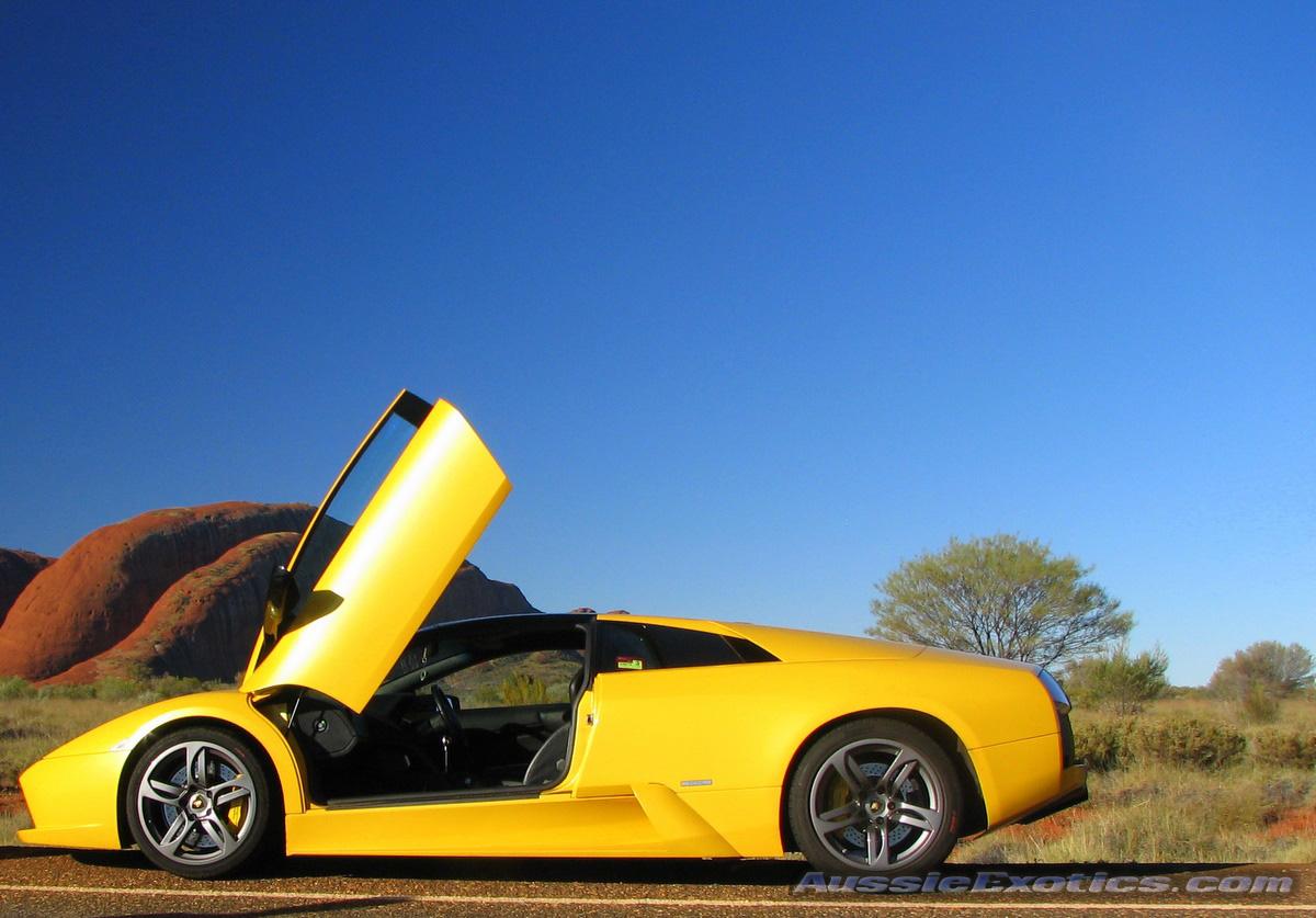 Lamborghini Exotics in the