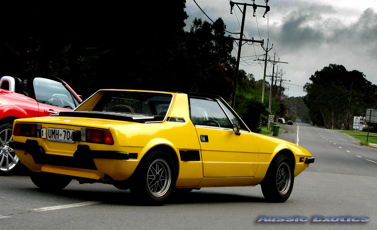 Fiat X1/9 ashsimmonds Slow