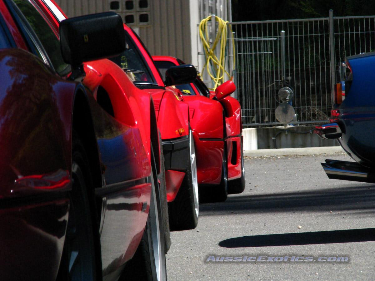 Ferrari F430 Scuderia Red Gold
