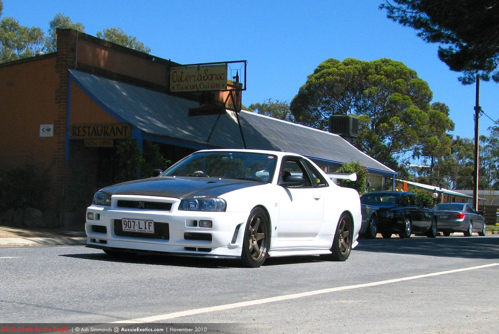 Nissan-R34-GTR - Climb to the
