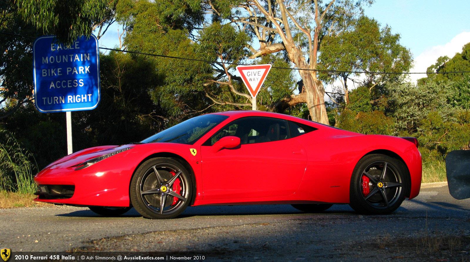 mhh's 2010 Ferrari 458 Italia: