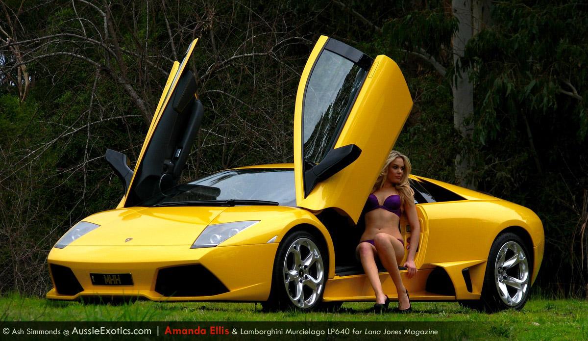 Lamborghini Girl