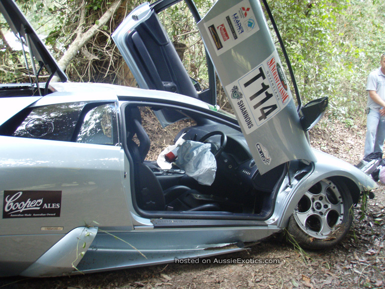 Image: 2003 Murcielago Repairable Write-off for Auction