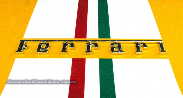 Image: Ferrari logos and badges