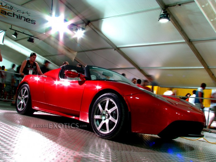 Tesla Roadster Brisbane