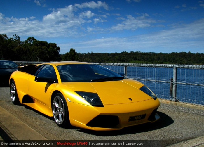 Image: SA Lamborghini Club run - 11th October '09