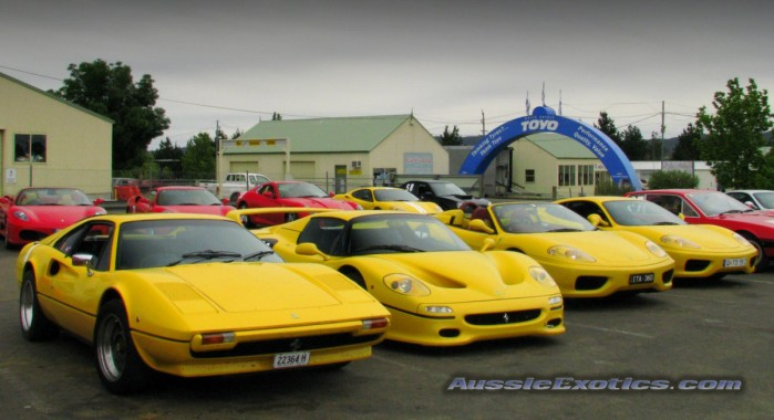 Image: Japanese Invasion - Honda NSX's take over Adelaide