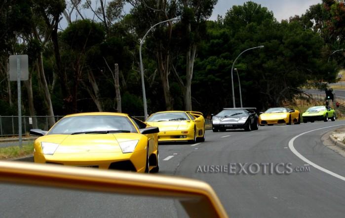 Lamborghini Countach Diablo Murcielago