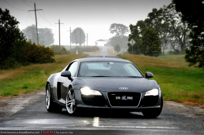 Ash Simmonds Audi R8 wallpaper